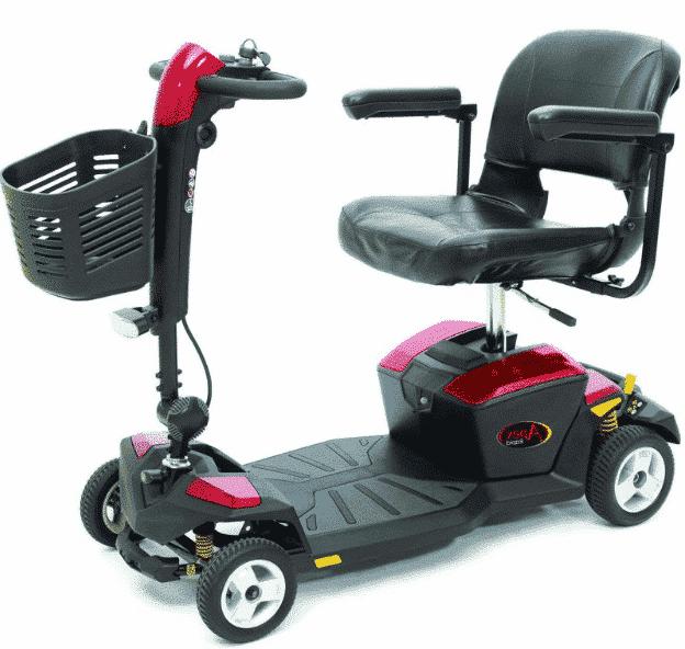 Pride Apex Rapid Travel Lightweight Scooter
