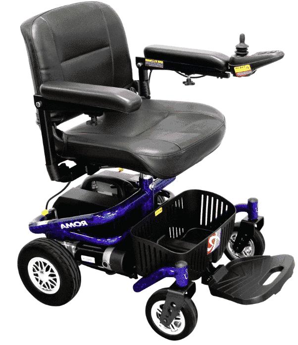 Roma Reno II Powerchair (blue)