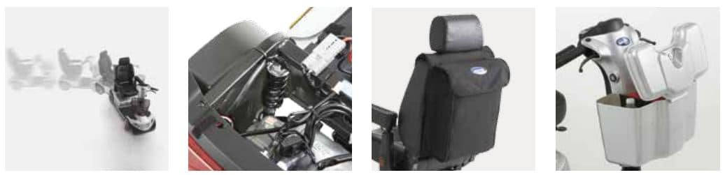 Invacare Comet Mobility Scooter parts