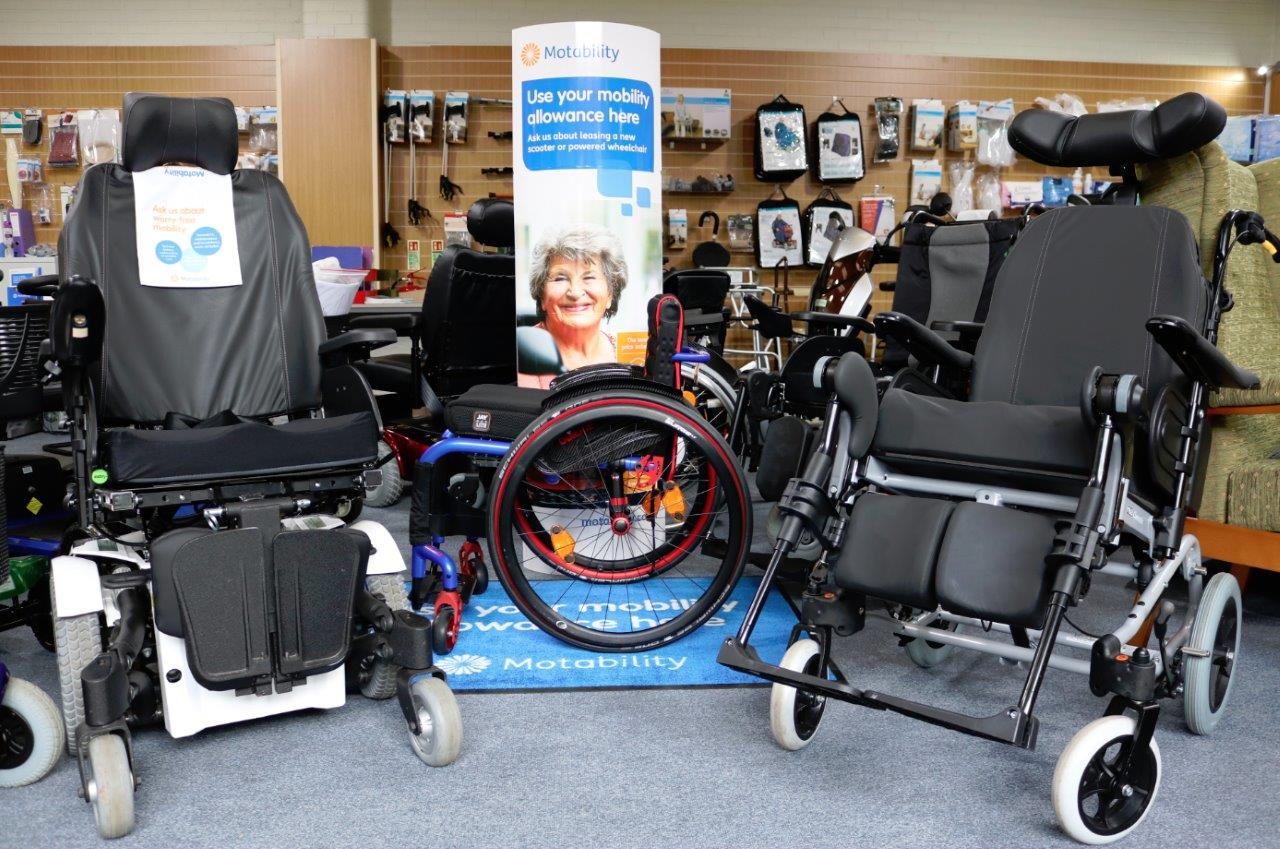 Easy Mobility Services Colchester showroom