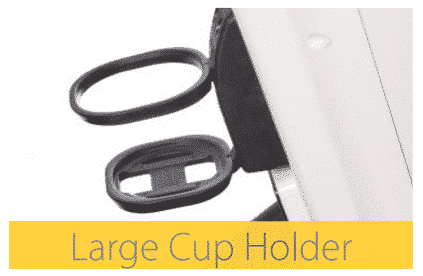 The Cabin Car Mk2 mobility scooter large cup holder