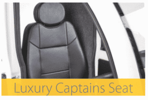 The Cabin Car Mk2 mobility scooter luxury Captains seat