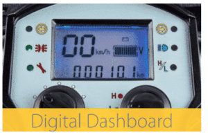 mobility scooter digital dashboard