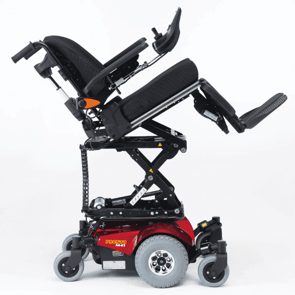 Invacare pronto m41 powerchair extended