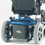 Invacare Spectra Blitz Rear wheel suspension
