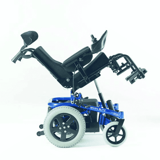 Invacare Spectra Blitz pedeatric wheelchair