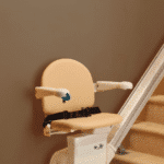 Handicare Simplicity Straight stairlift side view