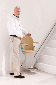 Handicare Simplicity+ stairlift