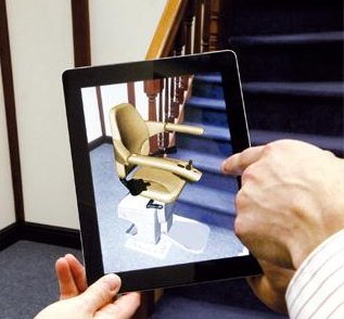 Handicare vision app for stairlift installations