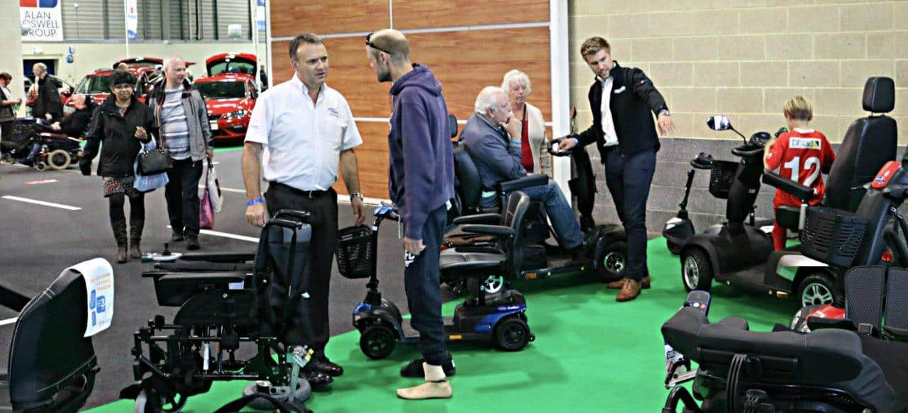 Easy Mobiity Services at a Motability Event in Peterborough