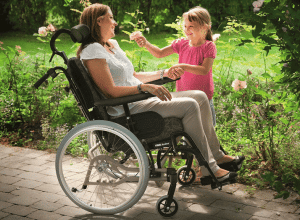 Rea Azalea wheelchair from Invacare