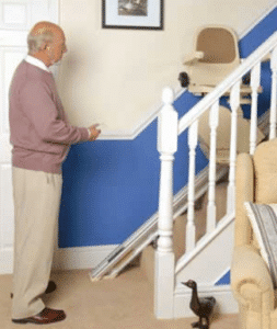 stairlift remote control