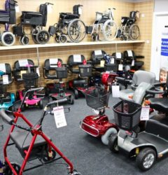 Mobility Scooters at Maldon Mobility Shop