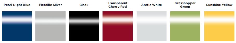 Invacare Bora Electric Powerchair shroud colours