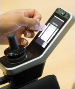 Invacare Bora Electric Powerchair touchscreen remote