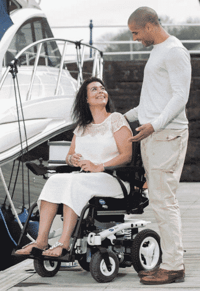 Invacare Bora Electric wheelchair
