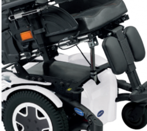 Powered fixed pivot tilt for tdx powerchair