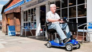 One Rehab Illusion lightweight mobility scooter