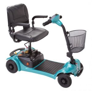 Rascal Ultralight 480 Travel Mobility Scooter (Teal