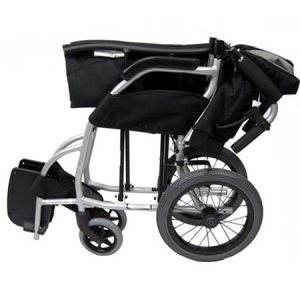 Karma Ergo Lite Transit wheelchair folded