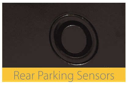 parking sensors on the cabin car mk2 scooter