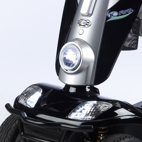 Mobility scooter headlight