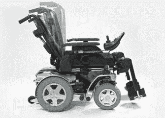 Storm 4 mobility electric wheelchair adjustable seating