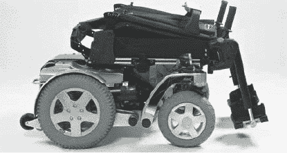 transporting foldable storm 4 mobility powerchair