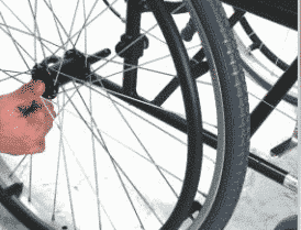Karma Sparrow Wheelchair quick release wheels