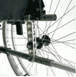 20 rear wheel positions for manual wheelchair