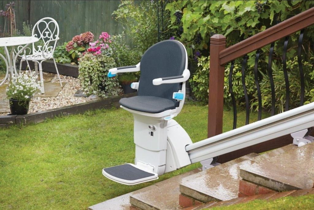 Handicare 1000 Outdoor Straight Stairlift