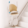 Simplicity+ stairlift folded seat and foot plate