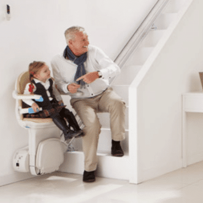 Using Simplicity+ stairlift