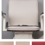 Basic stairlift seat