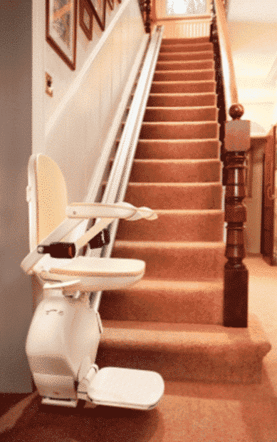 Brooks Lincoln Straight Stairlift