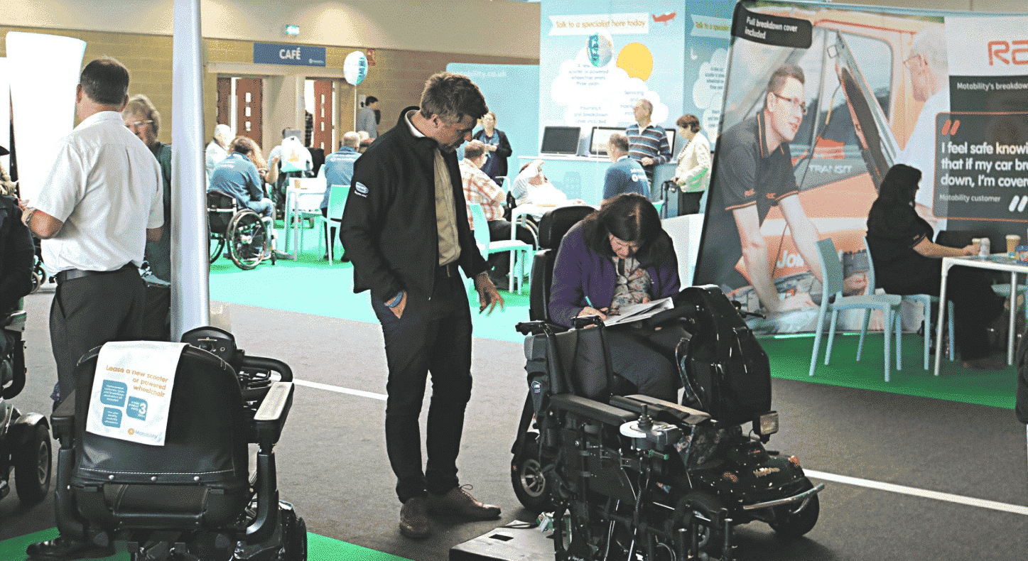 Easy Mobility Services at The Motability One Big Day Event