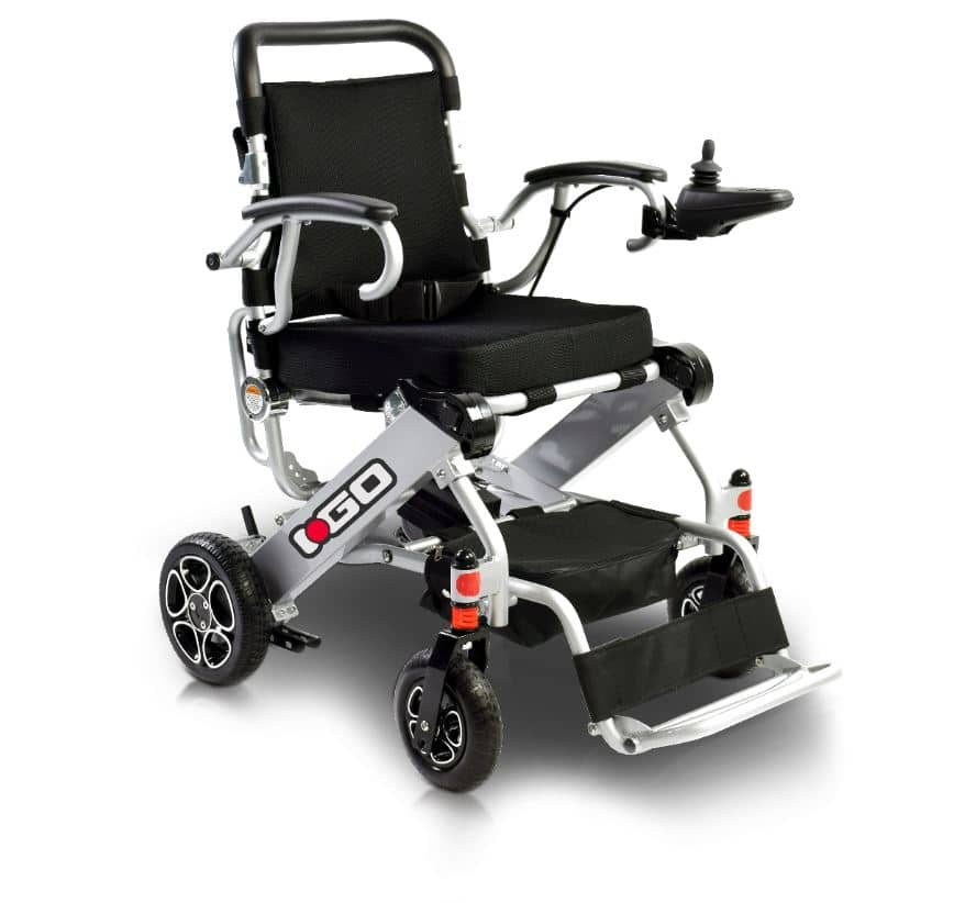 Pride i-Go Lightweight Foldable Powerchair
