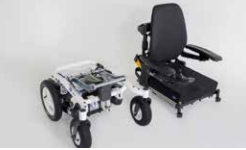 Removable seat unit on the Invacare Bora Powerchair