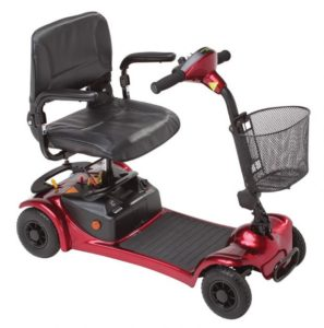 Rascal Ultralight 480 Travel Mobility Scooter (Red)