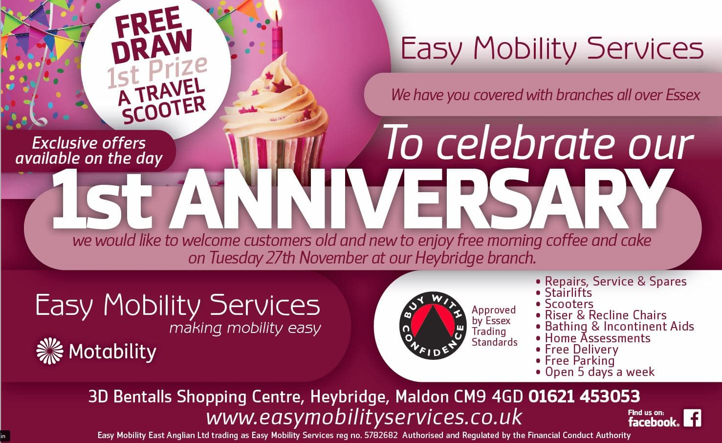 1st Anniversary Easy Mobility Services