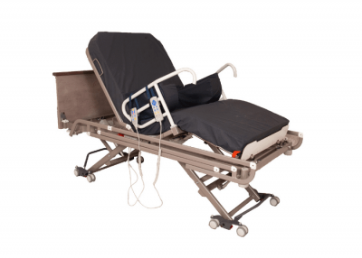 End Exit Electric Bed - In Semi Sitting Position - 700x500