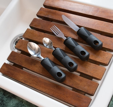 comfort cutlery set clean