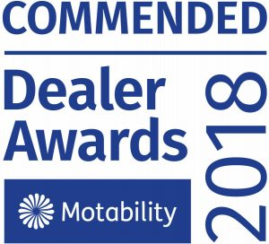 Commended mobility dealer award 2018