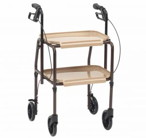 hand trolley with brakes