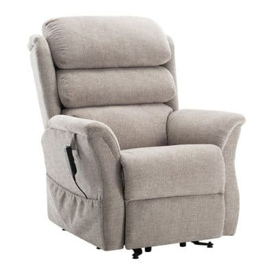 Electric Mobility Hamble Rise and Recliner Chair Beige