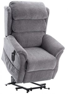 Electric Mobility Hamble Rise and Recliner Chair Tilting Forward