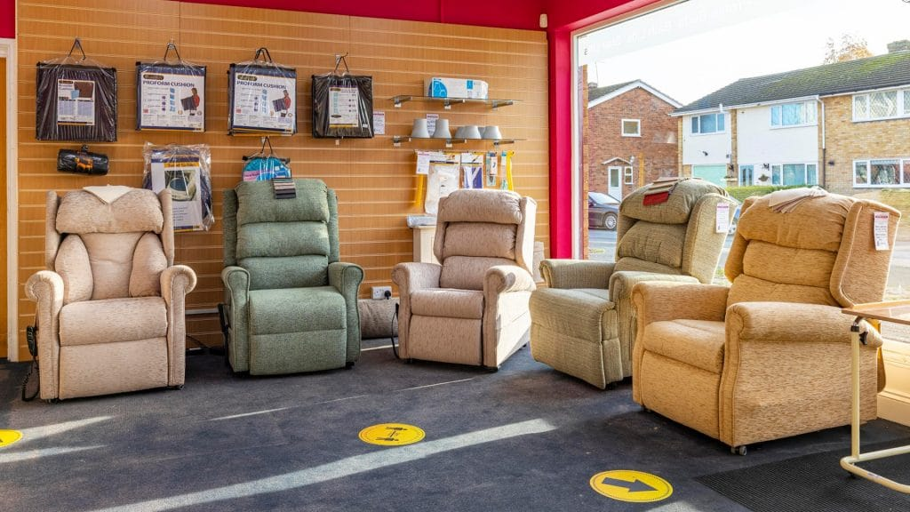 Easy Mobility Services Cressing Braintree Store - Riser recliner chairs