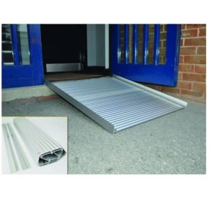 aluminium folding/roll up wheelchair ramp