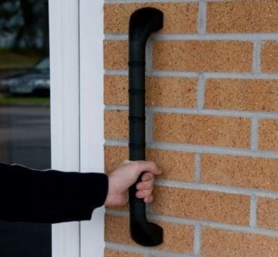 Prima Grab Bar for outdoor use