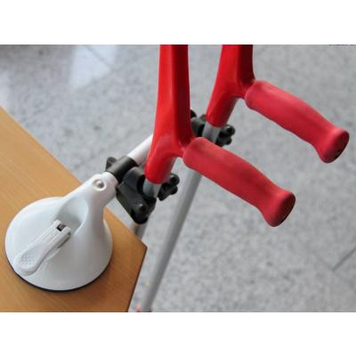 Dual walking stick holder